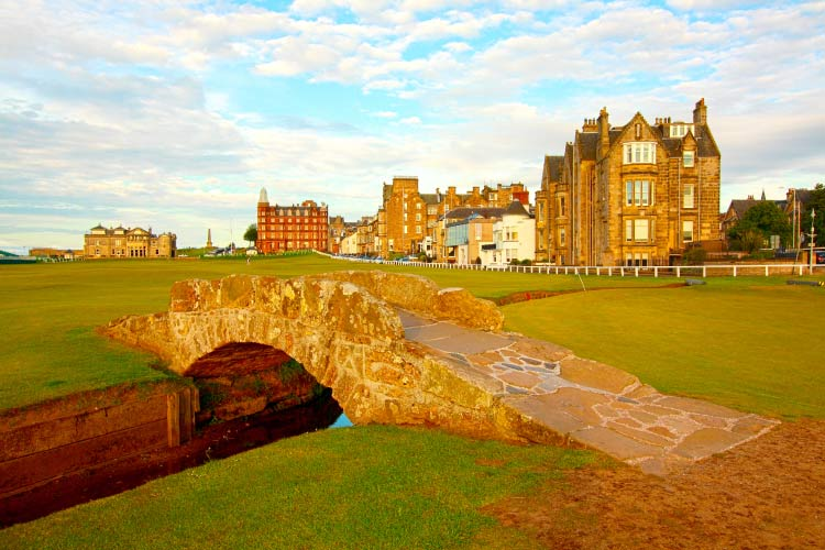 St Andrews Golf Course, one of the best places to golf in the world