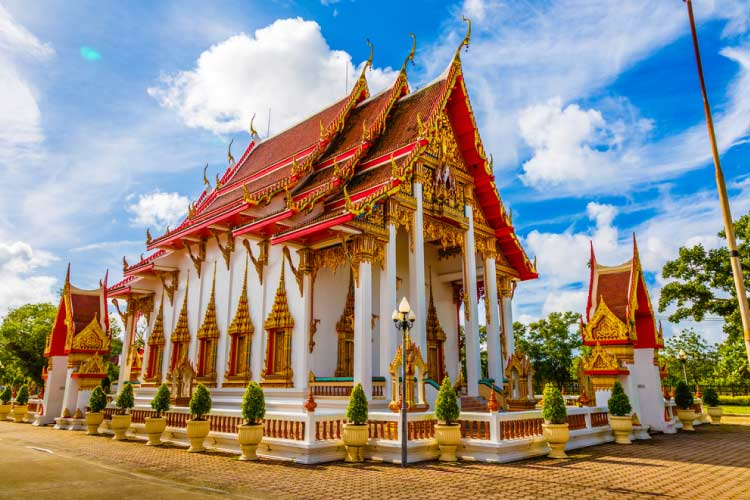 Temples in Phuket, Thailand