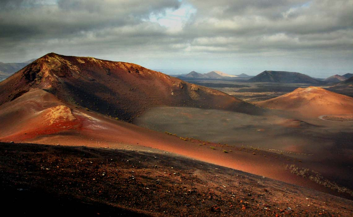 Timanfaya National Park, Volcanic Crater, Morocco