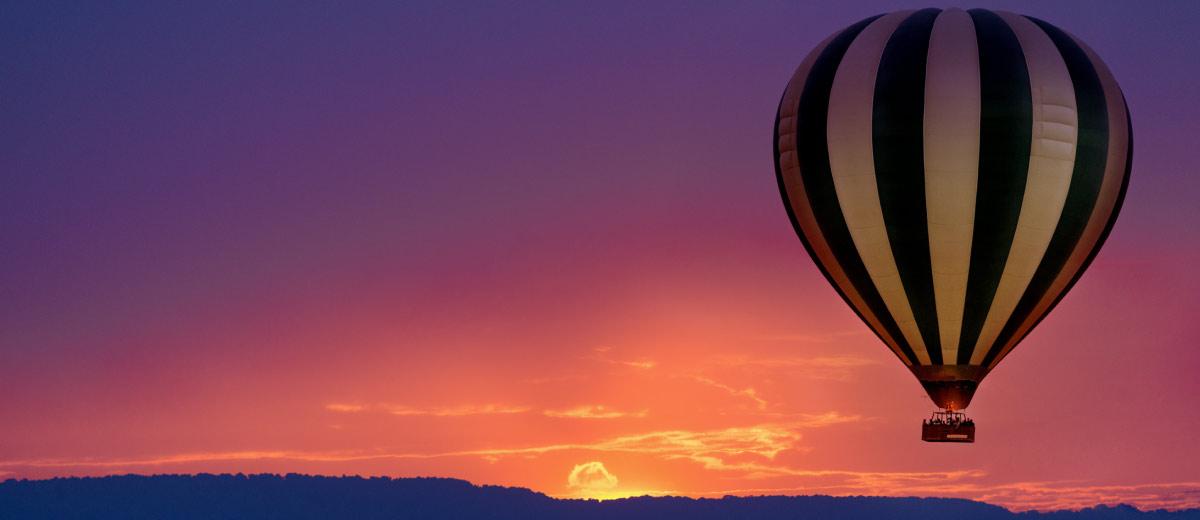 Balloon Ride over the Maasai Mara