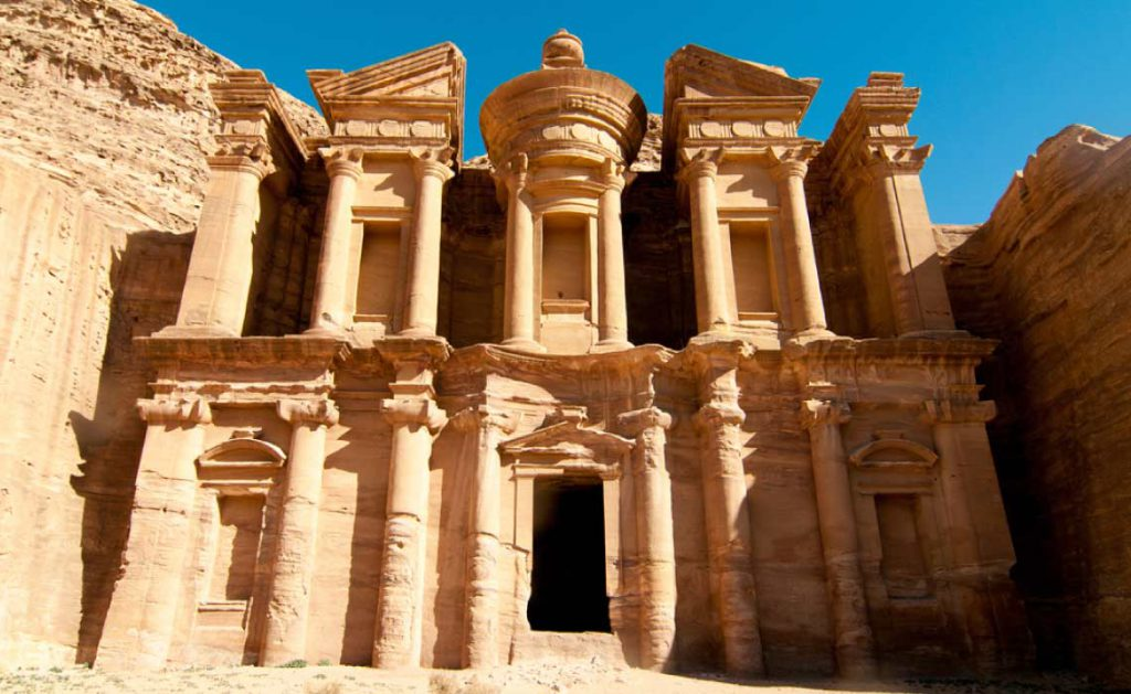 Ad Deir, The Monastery Temple of Petra, Jordan