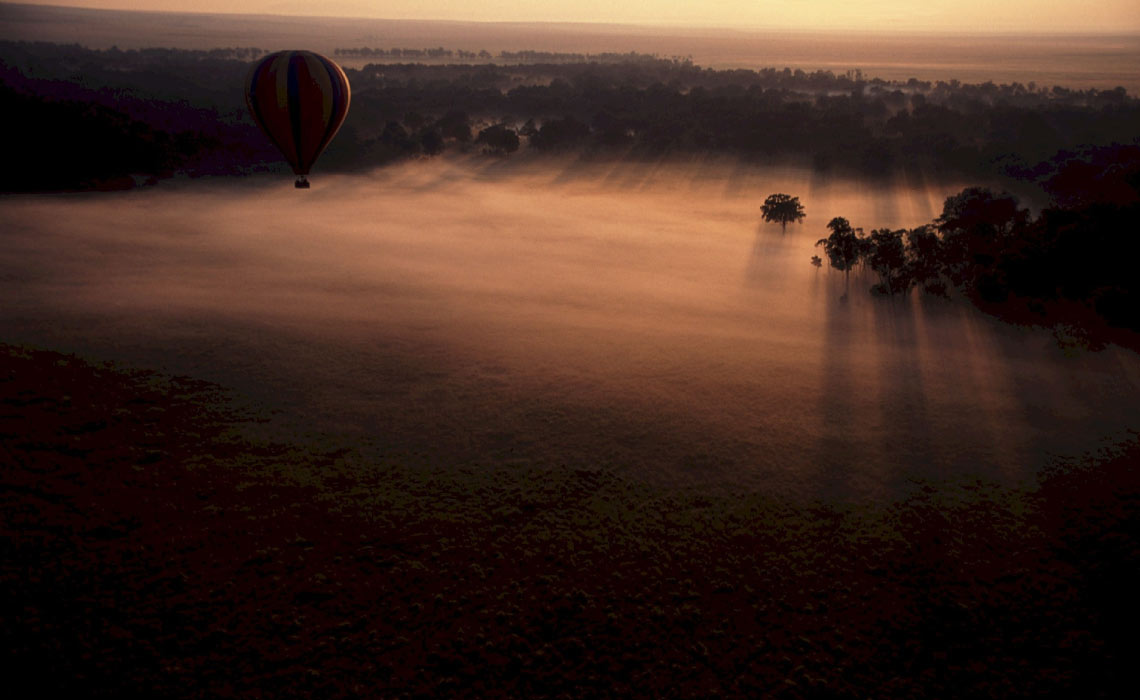 African Balloon Ride