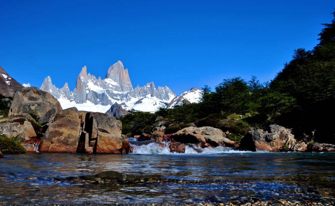 Babbling Patagonia Brook one on the way to Mount Fitz Roy