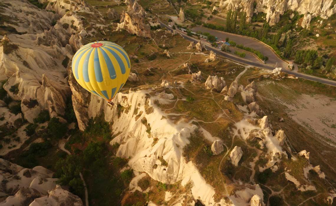 Balloon flight in Cappadocia, Turkey