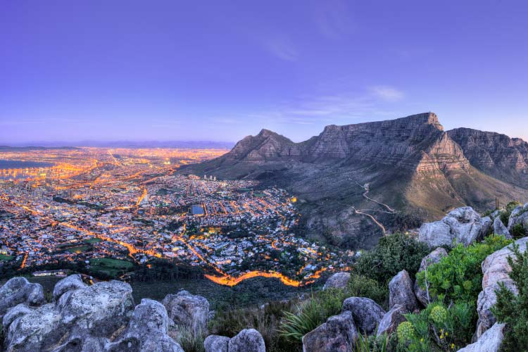 Beautiful South Africa's Cape Town's, Mountain and Sea views