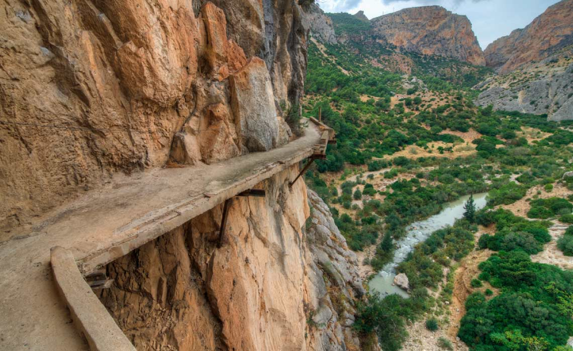 El Camino Del Rey, Spain, One of the world's best Skywalks