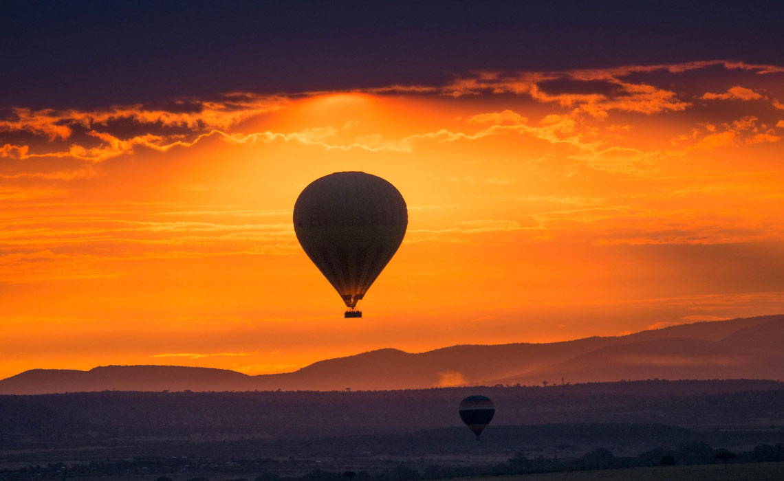 First Light Maasai Mara Balloon Ride