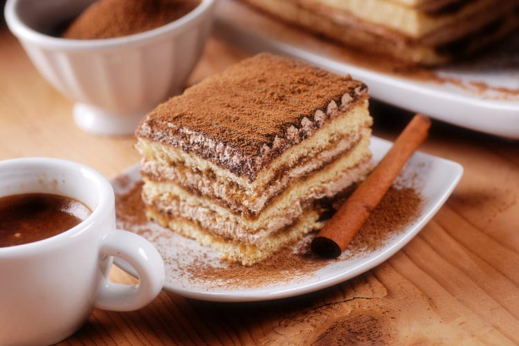 Italian Tiramisu and Espresso