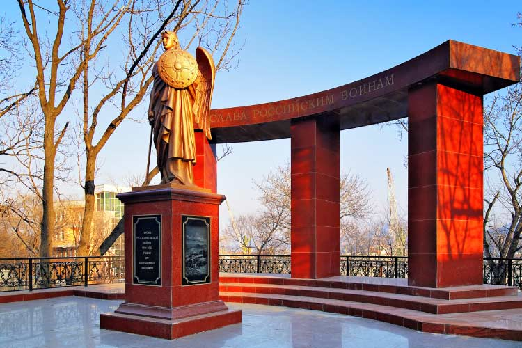 Monument to the Heroes of the Russian-Japanese War, Vladivostok