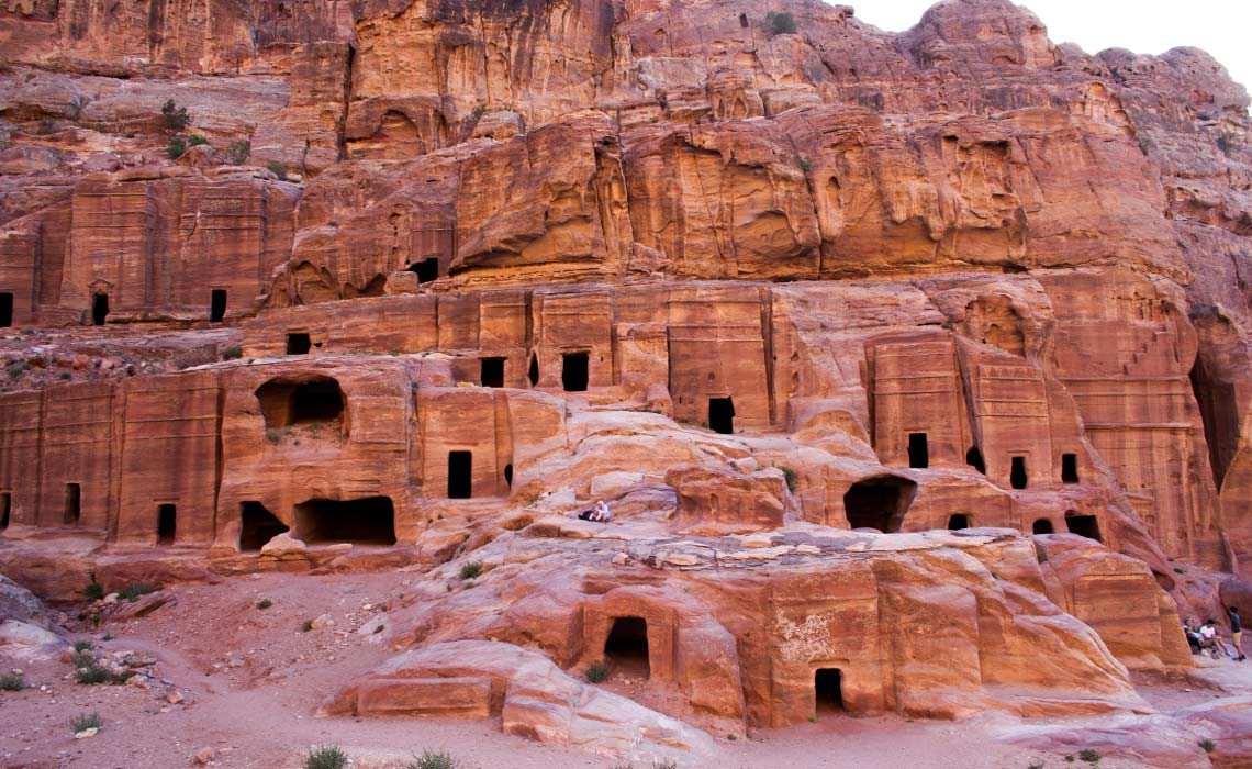 Royal Tombs. Petra, Jordan