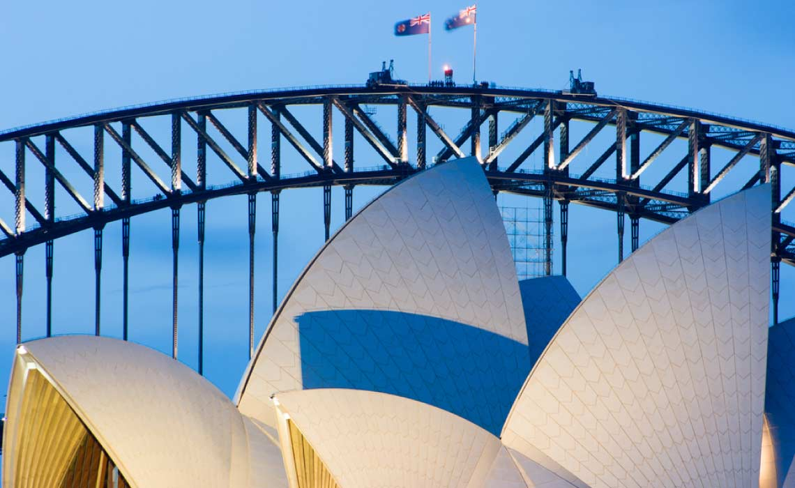 Skywalk at Sydney Harbour Bridge