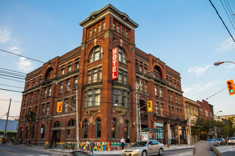 The Gladstone Hotel on Queen Street West