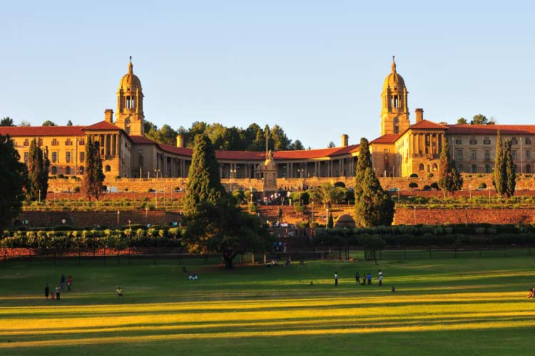 Union Buildings, Pretoria at Sunset