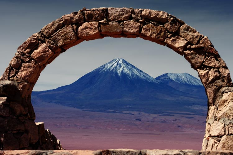 Volcano in the Atacama Desert, Chile