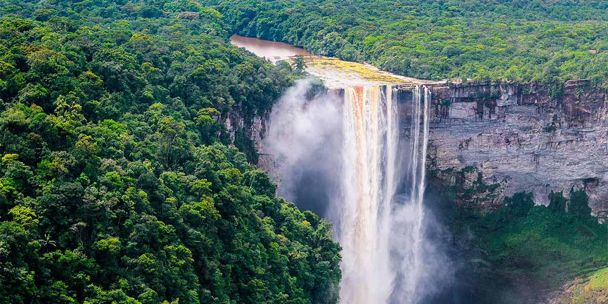 Kaieteur Falls, central Essequibo Territory, Guyana Featured Image
