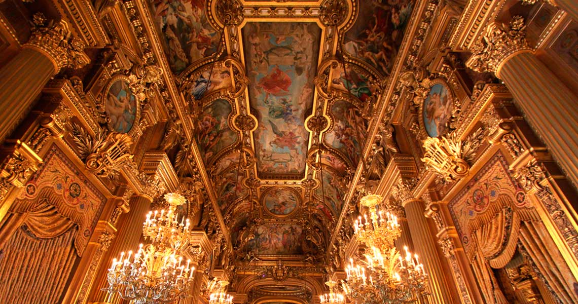 Palais Garnier, Paris, Fance