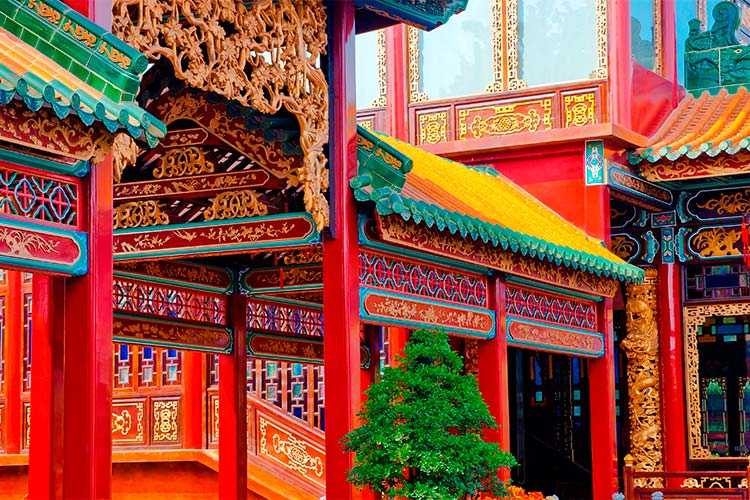 Ancient Chinese Architecture in Guangzhou