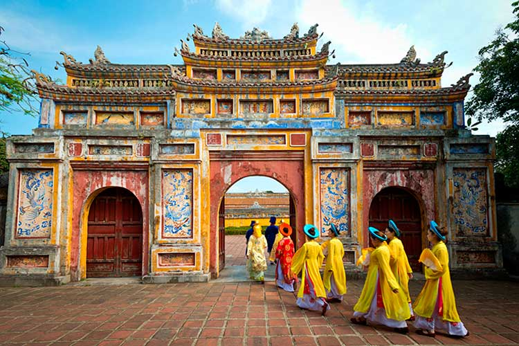 Imperial City of Hue, Vietnam, Editorial Chris Howey