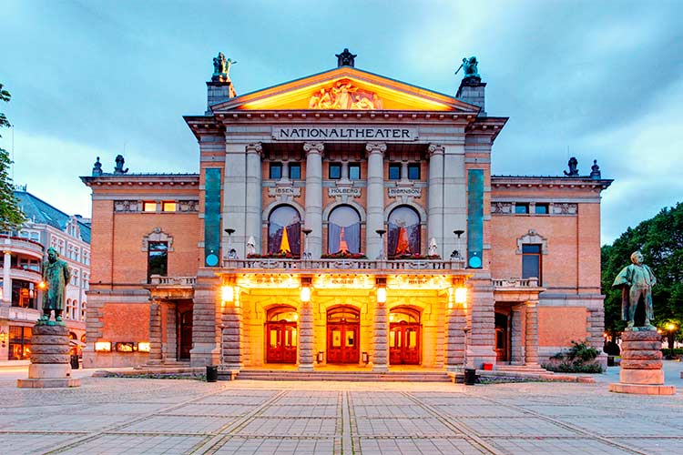 National Theatre in Oslo