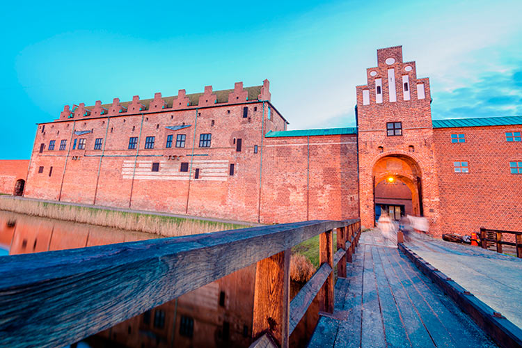 Old fortress in old part of Malmo