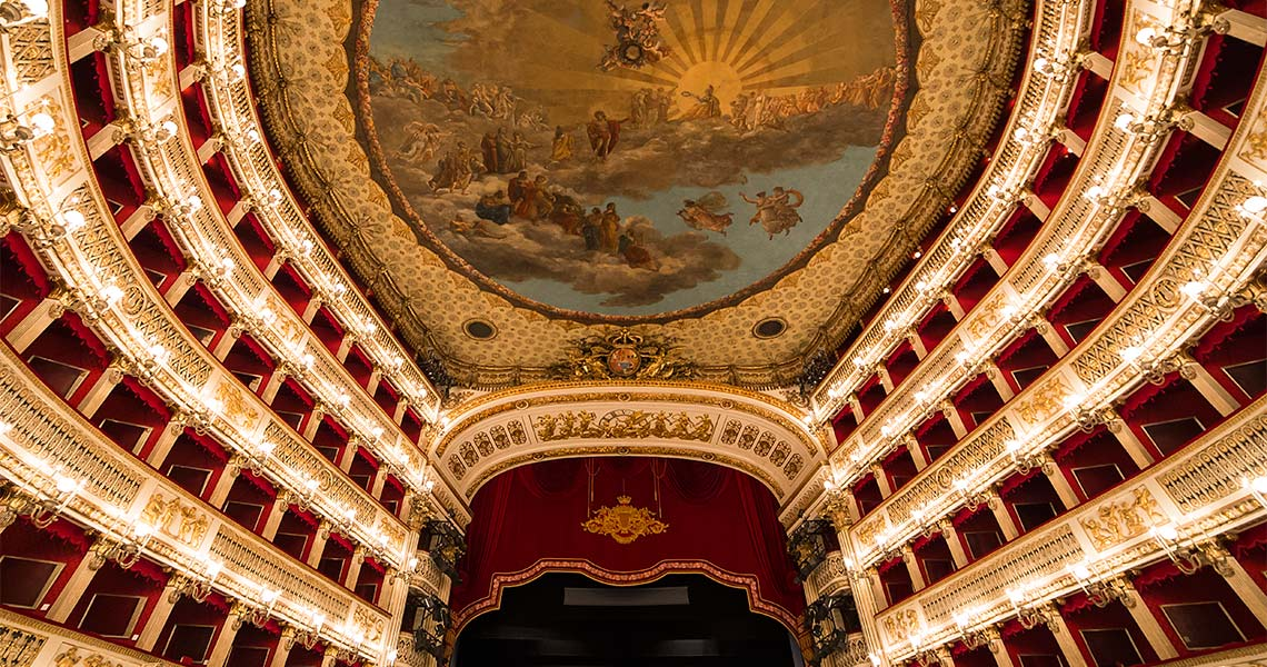 San Carlo Theatre - Naples - Italy Editorial photogolfer