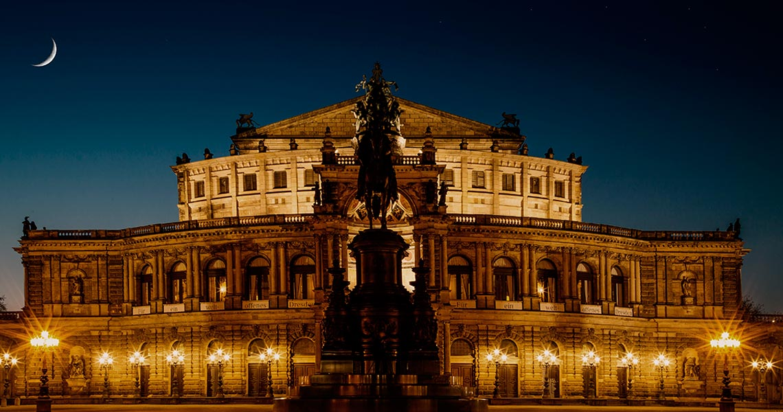 Semperoper, Dresden, Germany