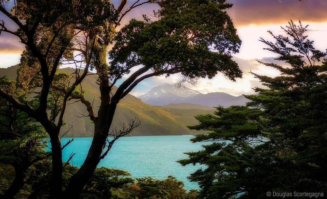 Sunset at Torres del Paine National Park, Chile, Patagonia Flickr CCBY
