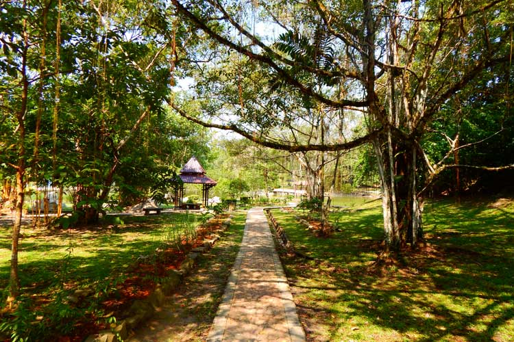Beautiful Park exhibiting Urban Ecotourism in South East Asia