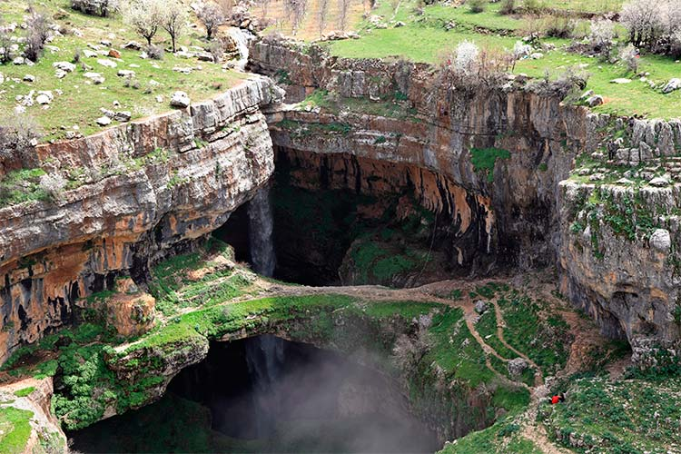 Baatara Gorge Waterfalls, Lebanon