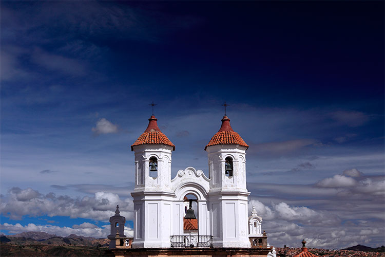 Cathedral in Sucre, Bolivia