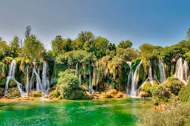 Kravice Waterfalls, easily one of the best waterfalls in the world