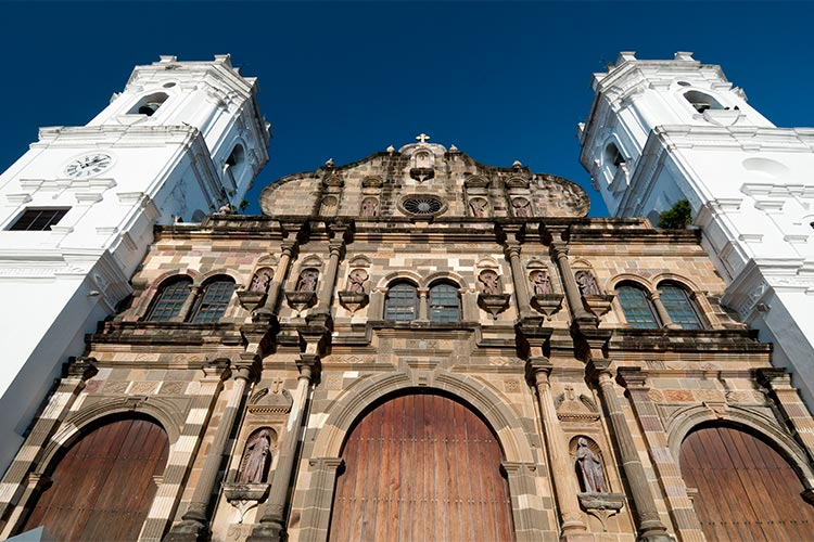 Panama Cathedral, San Felipe Old Quarter, UNESCO World Heritage Site, Panama City
