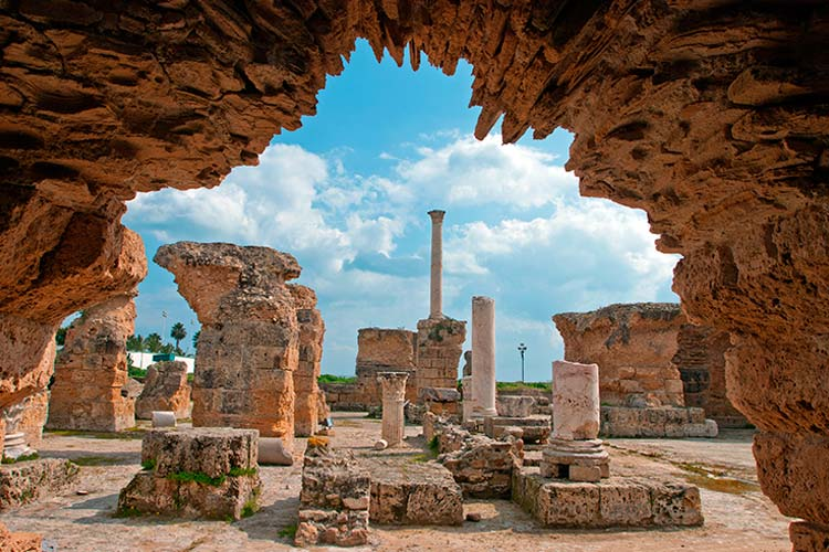 The Ruins of Carthage, Tunisia