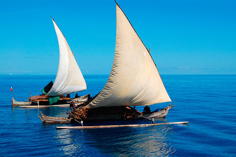 Wooden Fishermen boats - Dhao