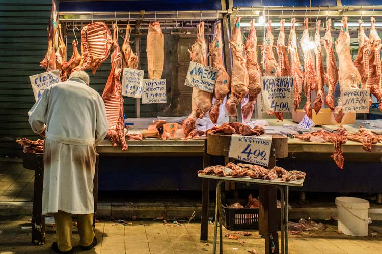 Eating Local in Athens, Greece