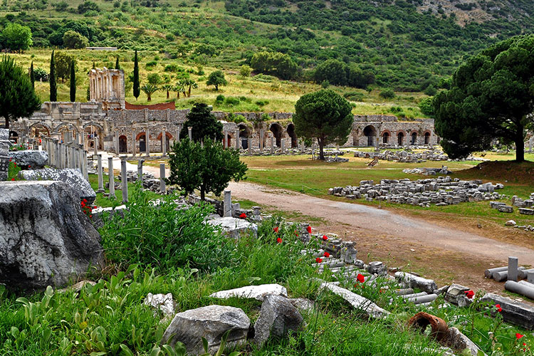 Ancient City of Ephesus in Turkey