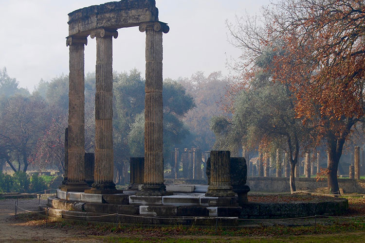 The Philippeion memorial, Olympia