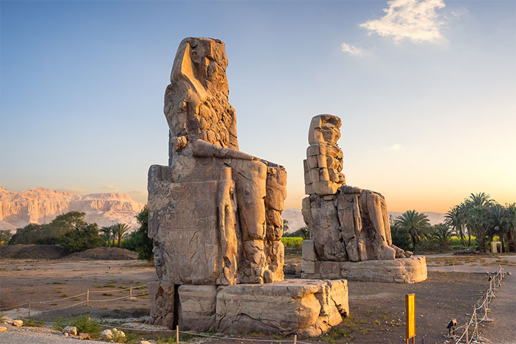 Colossi Of Memnon, Valley Of Kings, Luxor Egypt