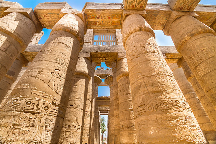Great Hypostyle Hall at the Temples of Karnak, Luxor