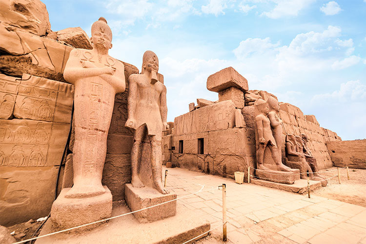Temple of Karnak (ancient Thebes) in Luxor
