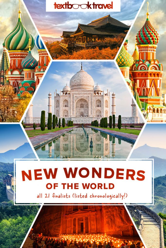21 New Wonders of the World